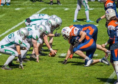 Centaures vs Giants Avril 2016