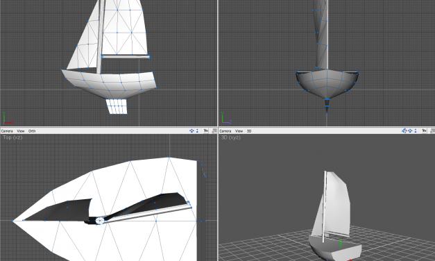 modèle 3D pour les bateaux